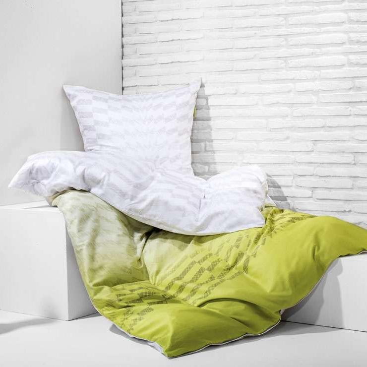 posteljnina iz satena kaeppel must have robotic zelena