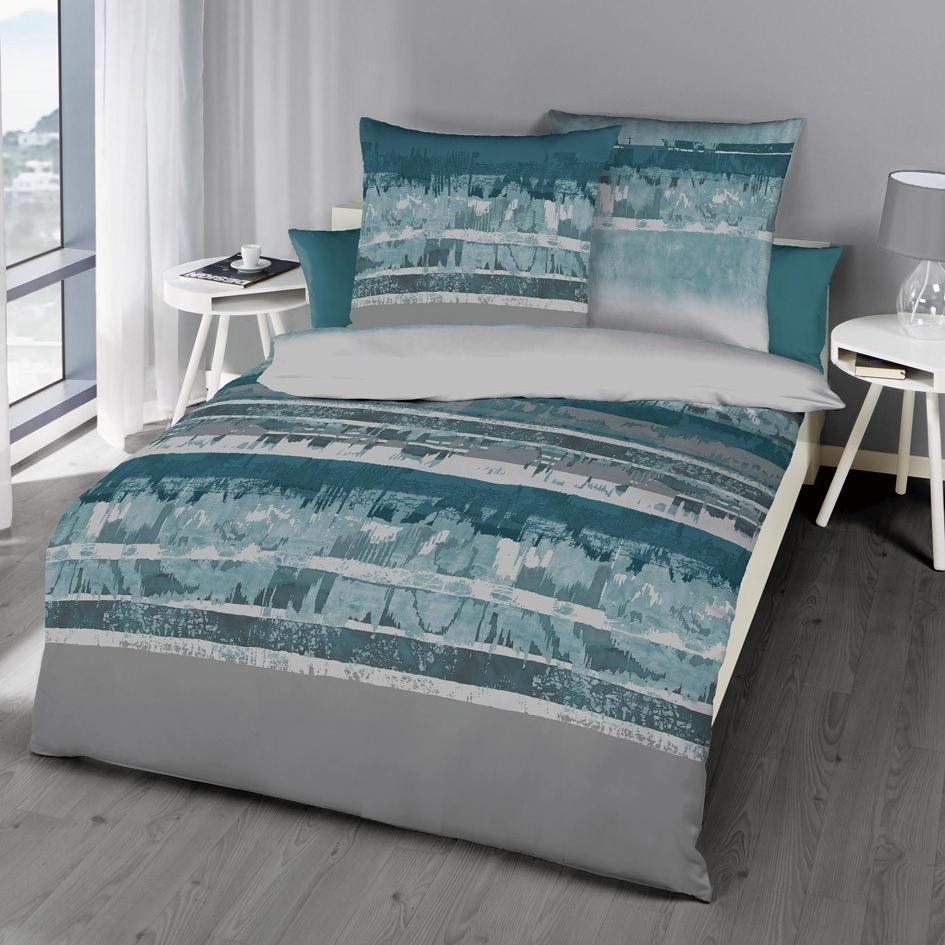 posteljnina iz satena kaeppel smaragd