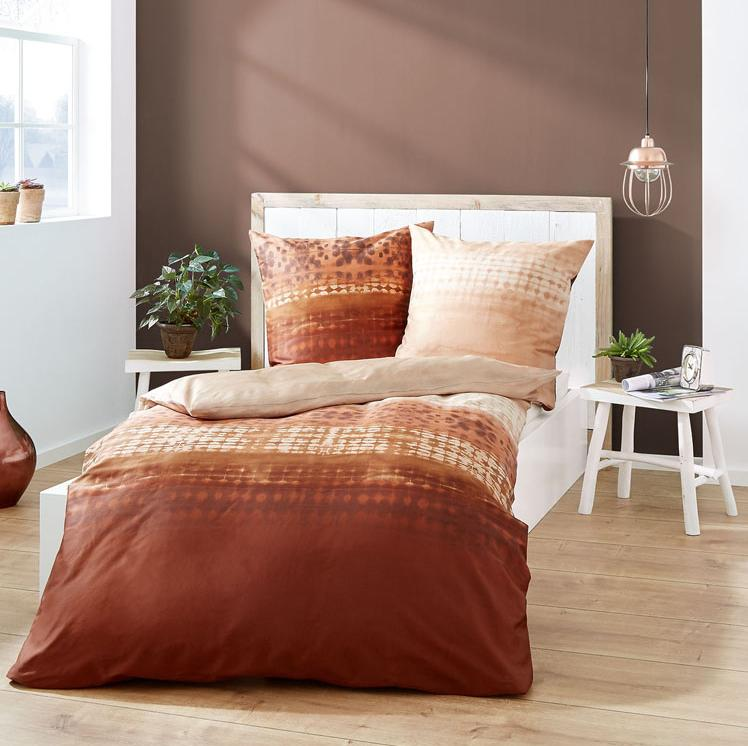 posteljnina iz satena kaeppel embrace bakrena