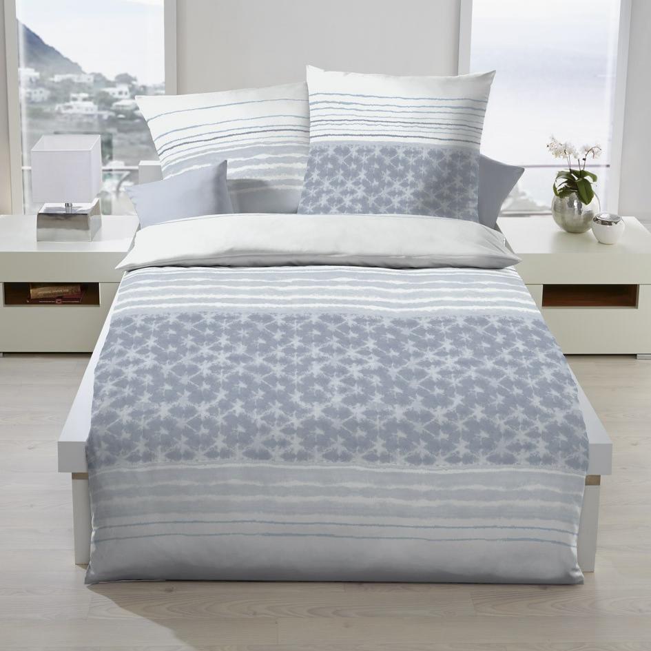 posteljnina kaeppel linon - siva