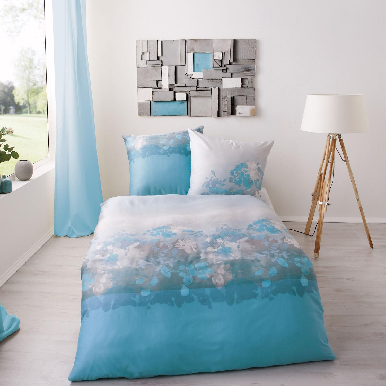 posteljnina kaeppel flair modra