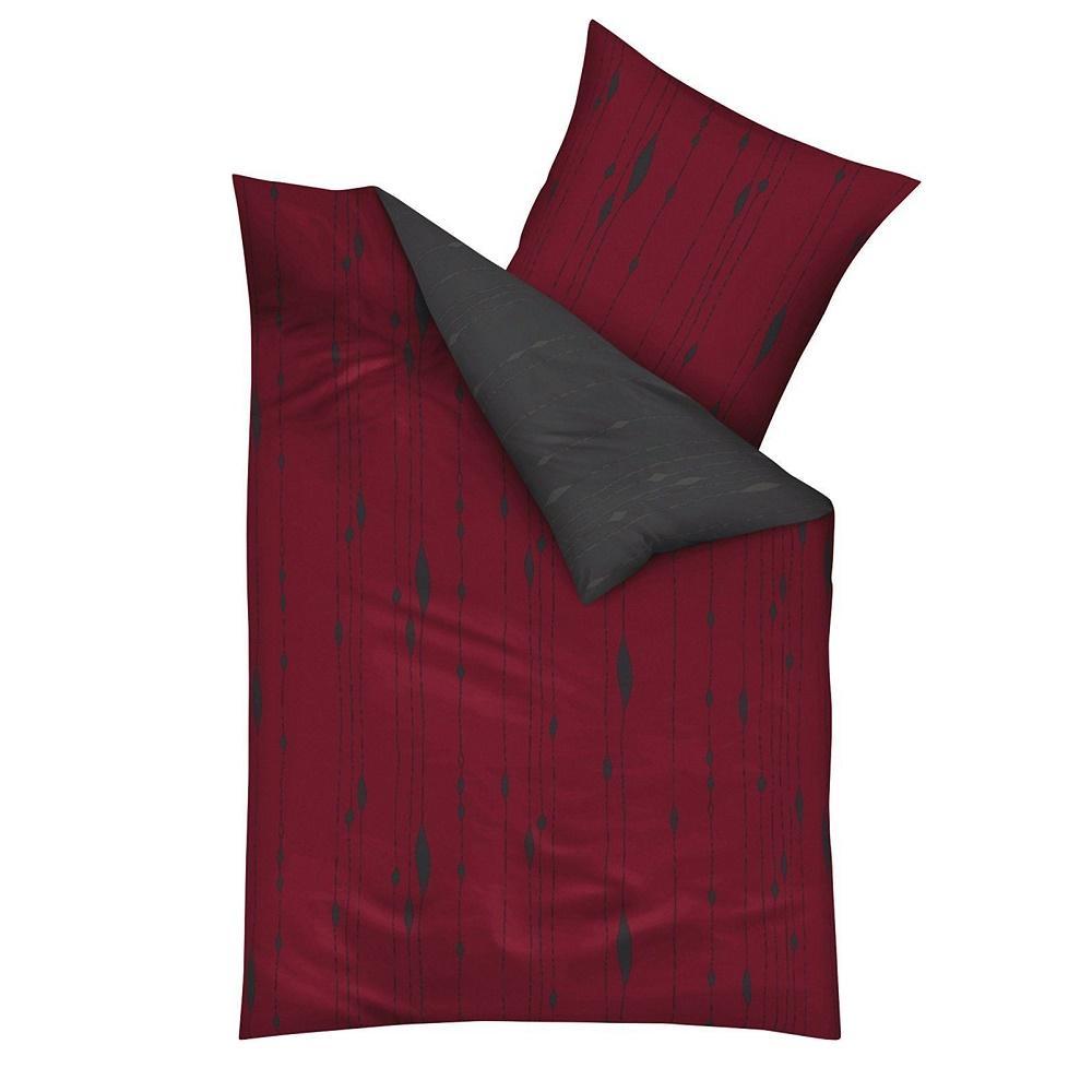 posteljnina iz flanele kaeppel Cocoon - rdeča