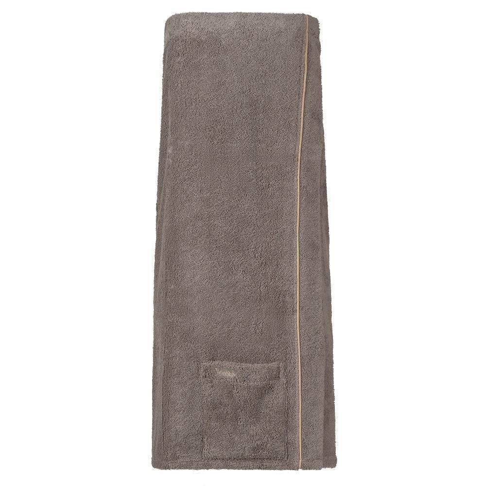 ženski kilt za savno livina sivo rjava