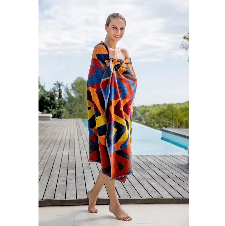 Brisača za na plažo ethno style