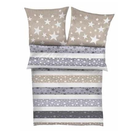 posteljnina iz satena s.oliver zvezdice