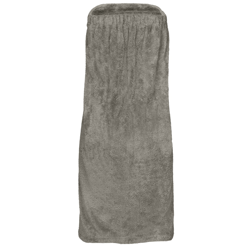 ženski kilt za savno livina siva